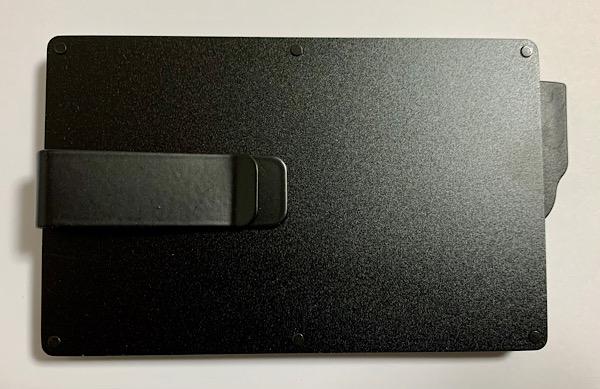 Zepirion スキミング、磁気不良防止 スリムカードケース 裏側