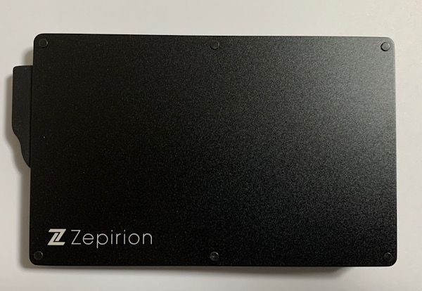 Zepirion スキミング、磁気不良防止 スリムカードケース 表側
